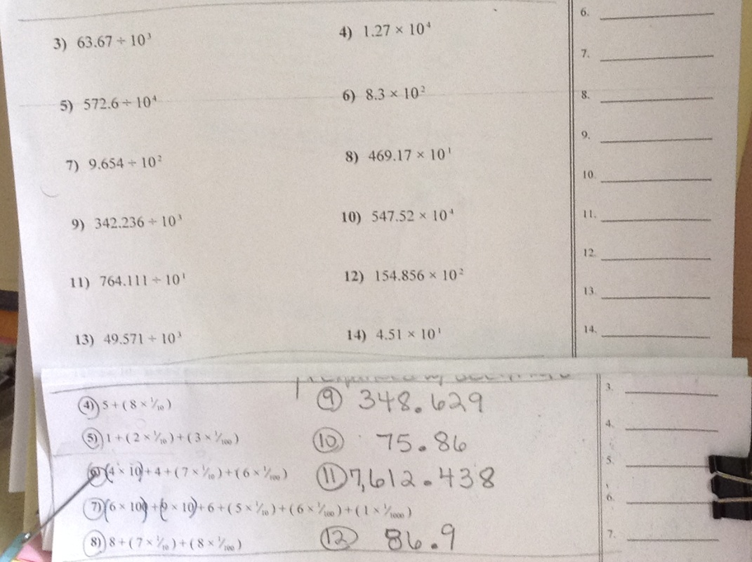 math worksheet : homework  test  mrs atchison s 5th grade class : Comparing Decimals Worksheets 5th Grade